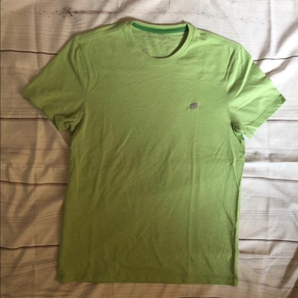 Men's Banana Republic Green tshirt small